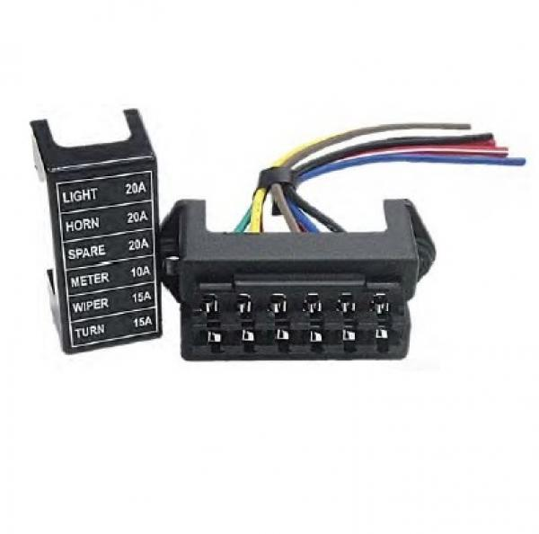 regular type automotive fuse box